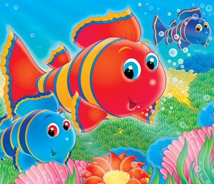 Cartoons Underwater