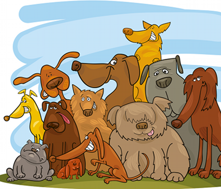 Cartoons Dogs