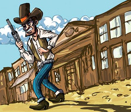 Cartoons Cowboy