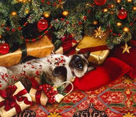 Sueellen Ross - Christmas Cats