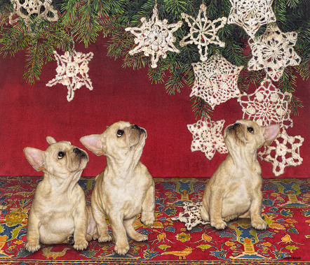 Sueellen Ross - Christmas Dogs